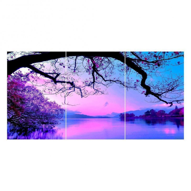 3 pcs Purple Tree La...