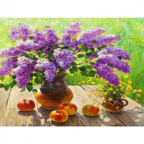 Paint-By-Number Flower Fruit (40*50cm)