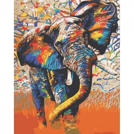 Paint-By-Number Elephant (40*50cm)